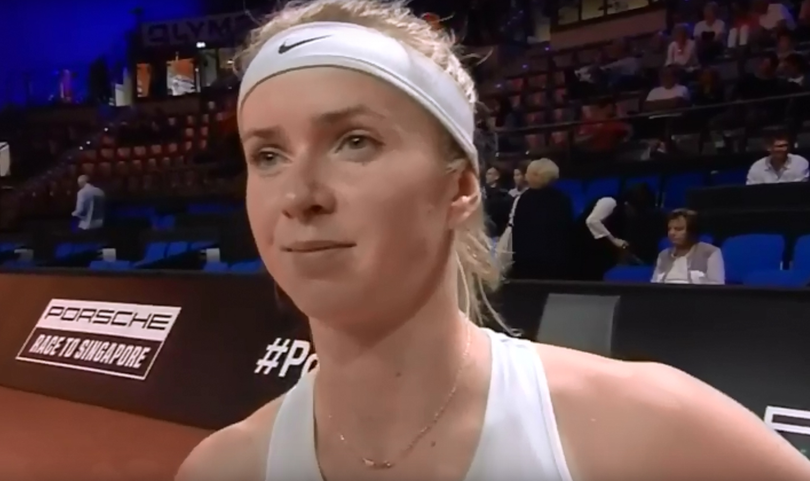 Свитолина с трудом обыграла теннисистку из третьей сотни
