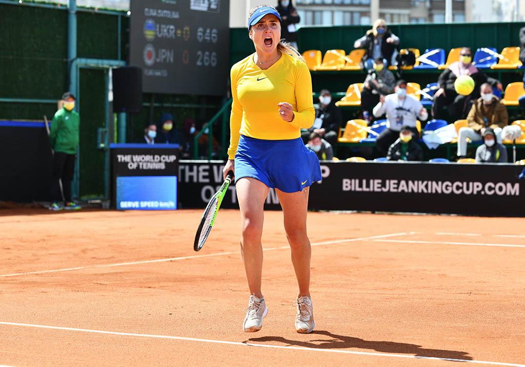 Теннис. Свитолина с трудом выиграла решающий поединок в матче с Японией